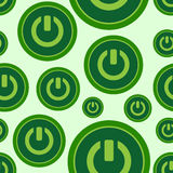 Seamless symbols of inclusion Stock Image