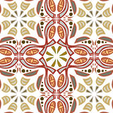 Seamless Symmetrical Pattern Royalty Free Stock Photos