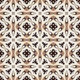 Seamless symmetrical pattern Royalty Free Stock Photo