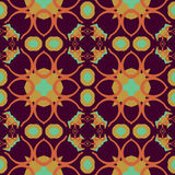 Seamless symmetrical pattern, texture Royalty Free Stock Photography