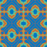 Seamless symmetrical pattern, texture Royalty Free Stock Photos