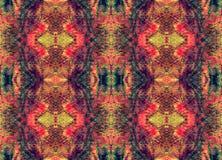 Seamless symmetrical pattern to the center Royalty Free Stock Photos