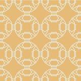 Seamless symmetrical white geometric shapes on Royalty Free Stock Photo