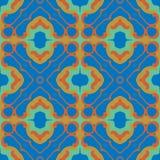 seamless symmetrisk textur för modell Royaltyfria Foton
