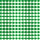 seamless tablecloth för grön modell Royaltyfria Bilder