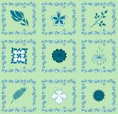 Seamless tablecloth pattern Royalty Free Stock Image