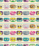 Seamless tape pattern Stock Photo