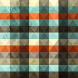 Seamless tappninggrungetriangel Royaltyfria Bilder