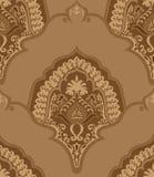 seamless tappningwallpaper Arkivfoton