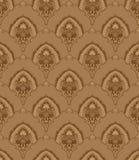 seamless tappningwallpaper Arkivfoto