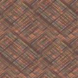 seamless tartan för pläd Brun orange bakgrund royaltyfri foto