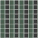 Seamless tartan pattern. Green and grey kilt fabric texture Stock Images