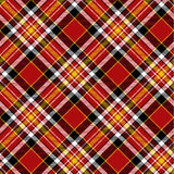 Seamless tartan pattern Stock Photos
