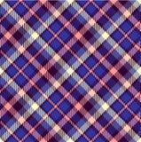 Seamless tartan pattern Royalty Free Stock Images