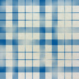 Seamless tartan pattern on paper texture. Blue Stock Photo