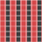 Seamless tartan pattern. Red and grey kilt fabric texture Stock Images
