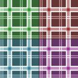 Seamless tartan pattern. Set Royalty Free Stock Photo