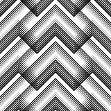 Seamless Tartan Pattern. Vector Black and White Woven Background Royalty Free Stock Photo