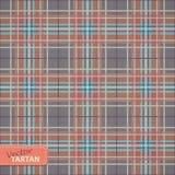 Seamless tartan pattern. Vector illustration of Seamless tartan pattern Stock Image