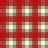 Seamless tartan pattern Royalty Free Stock Photos