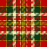 Seamless tartan pattern Royalty Free Stock Photos