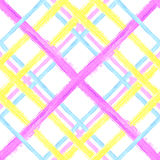 Seamless tartan pattern 3 Royalty Free Stock Images