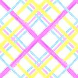 Seamless tartan pattern 3 Royalty Free Stock Images