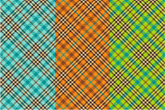 Seamless tartan patterns Royalty Free Stock Image