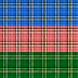 Seamless tartan patterns Royalty Free Stock Photography
