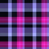 Seamless tartan pink background Royalty Free Stock Photo