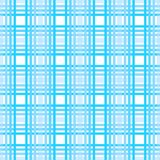 Seamless tartan plaid pattern. Checkered fabric texture print in dark grayish blue, navy, pale blue and white eps 10 stock illustration