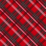 Seamless tartan plaid pattern. fabric pattern. Checkered texture for clothing fabric prints, web design, home textile stock illustration