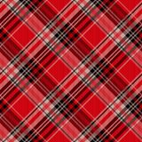 Seamless tartan plaid pattern. fabric pattern. Checkered texture for clothing fabric prints, web design, home textile. Seamless tartan plaid pattern, texture royalty free illustration