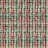 Seamless tartan plaid . Seamless tartan plaid in small green, orange plaid royalty free illustration