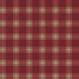 Seamless tartan plaid texture Stock Image