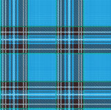 Seamless Tartan Plaid Vector Pattern Background with Fabric Text Stock Images