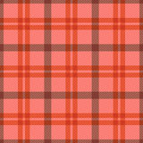 Seamless tartan rectangular pattern in pink and red Royalty Free Stock Image