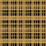 Seamless tartan scottish lumberjack pattern with yellow and black colors. vector illustration
