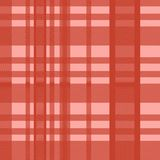 Seamless tartan scottish lumberjack red color pastel. Colorful trendy feminine fashion background ready for print. royalty free illustration