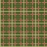 Seamless tartan texture Royalty Free Stock Image