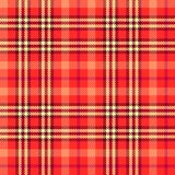 Seamless tartan vector pattern Stock Image