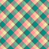 Seamless tartan vector pattern Stock Photography