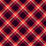 Seamless tartan vector pattern Royalty Free Stock Photography