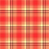 Seamless tartan vector pattern Stock Illustration