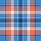 Seamless tartan vector pattern Vector Illustration