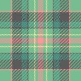 Seamless tartan vector pattern stock illustration