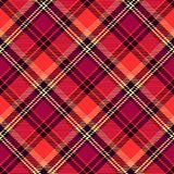 Seamless tartan vector pattern Royalty Free Stock Photos