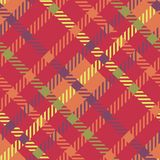 Seamless tartan vector pattern.striped plaid pattern. Red color. Seamless tartan vector pattern. Red color striped plaid pattern Royalty Free Stock Images