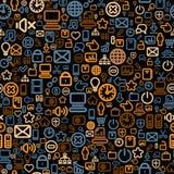 Seamless Technology Pattern Royalty Free Stock Image