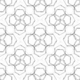 Seamless technology pattern. Hexagons abstract background. Modern stylish texture. Geometric science and technology. Motion design. Scientific vector Royalty Free Stock Photo